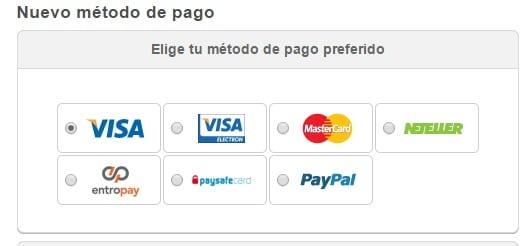 Método de pago