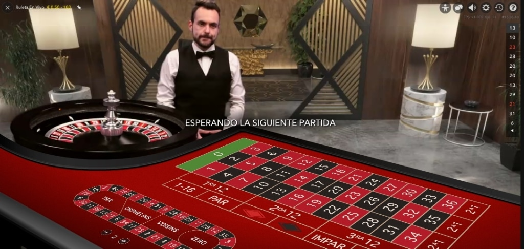 Luckia Ruleta en vivo