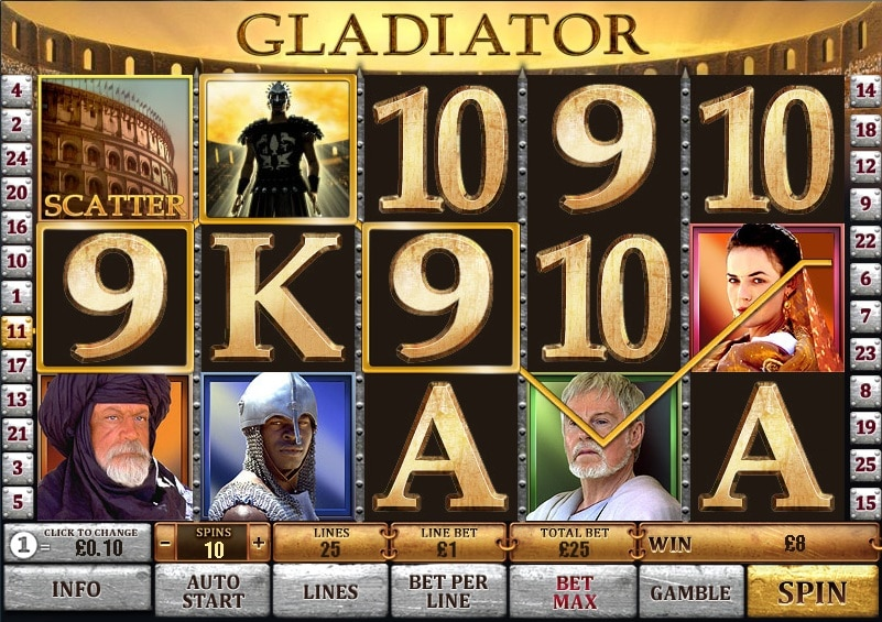 Gladiator juego
