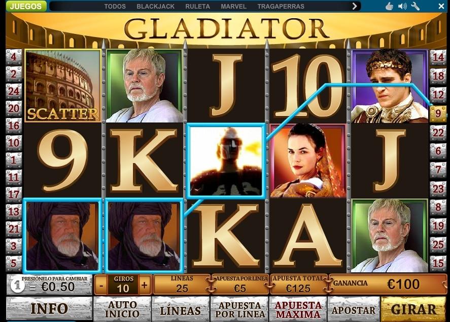 Gladiator premio