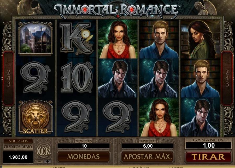 Immortal Romance juego