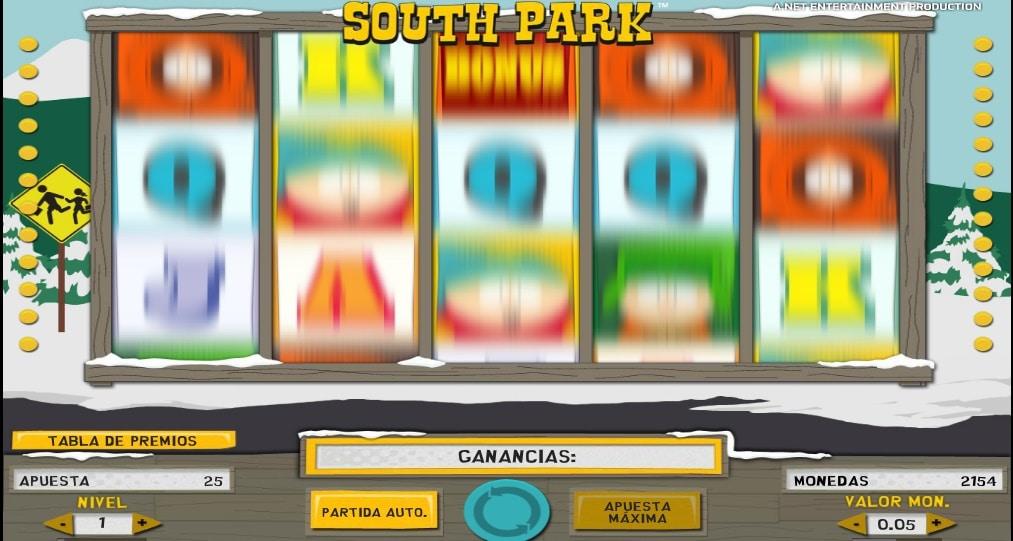 Jugando en South Park