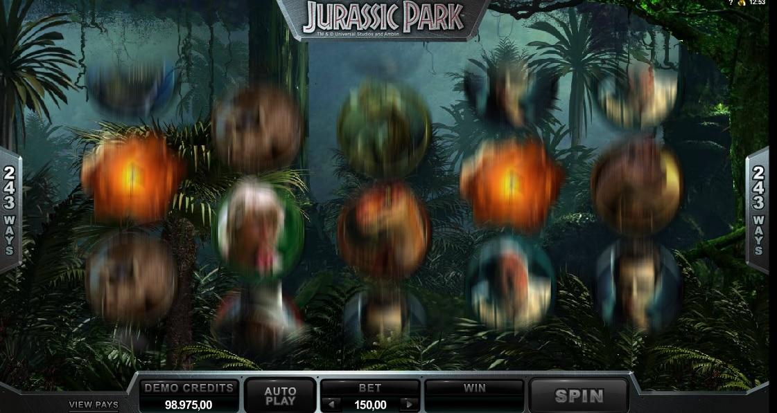 Jurassic Park jugando