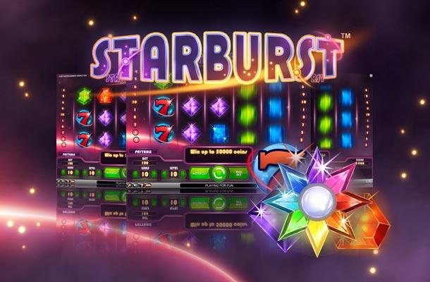 Starburst tragaperras