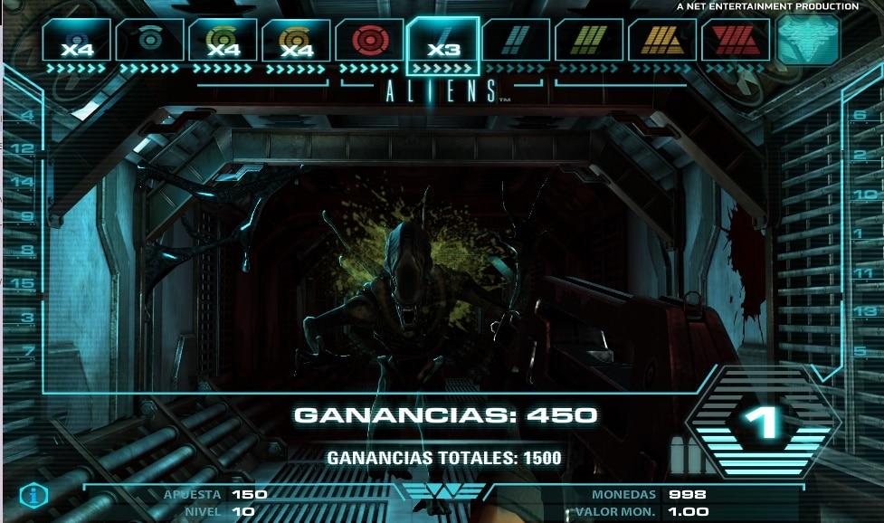 Aliens juego alien