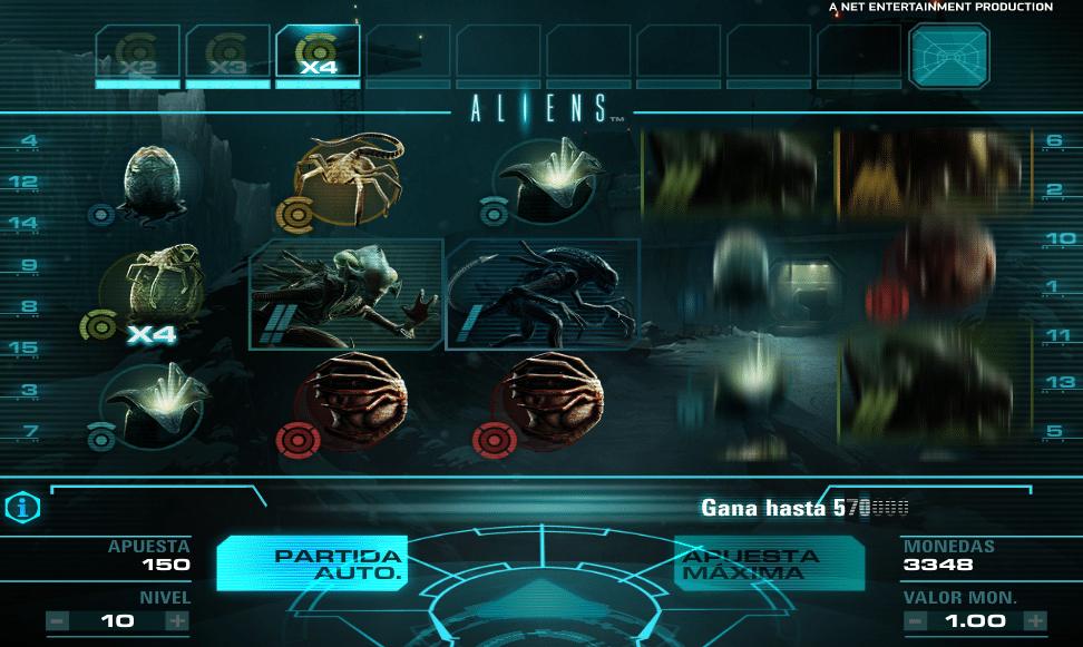 Aliens jugando