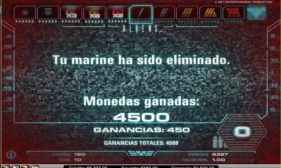 Aliens segundo nivel finalizado