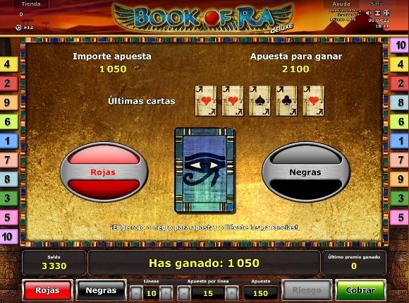Book of Ra Deluxe Ronda premio