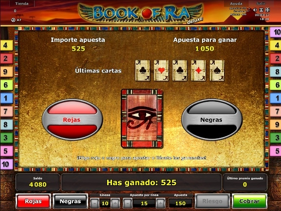 Book of Ra Deluxe ronda de bonus