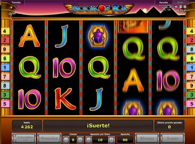 Book of Ra jugando