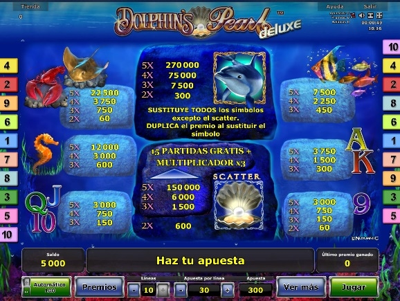 Dolphin´s Pearl Deluxe premios