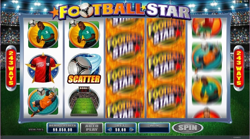 Footbal Star Scatter