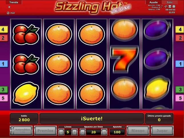 jugar a sizzling hot