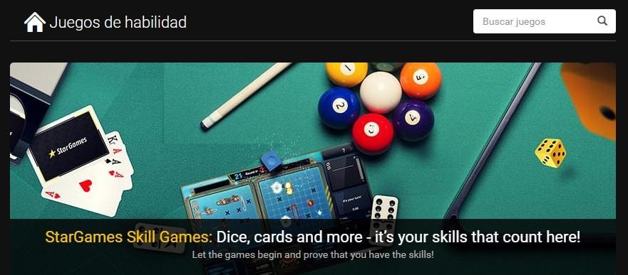 Star Games Juegos de habilidad