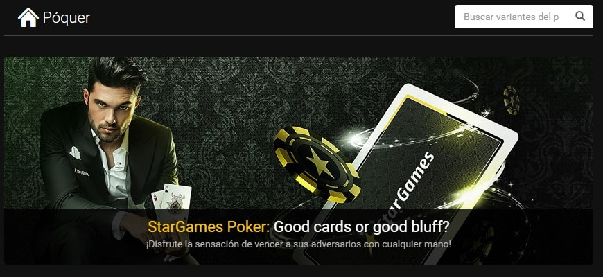 Star Games Poker