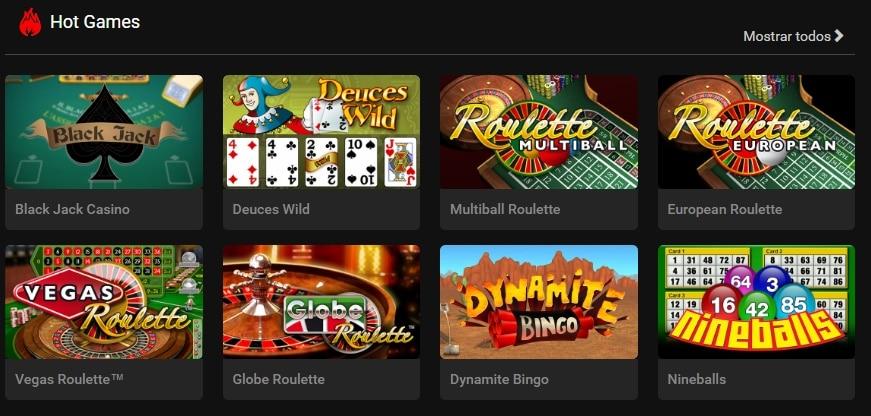 Star Games juegos casino