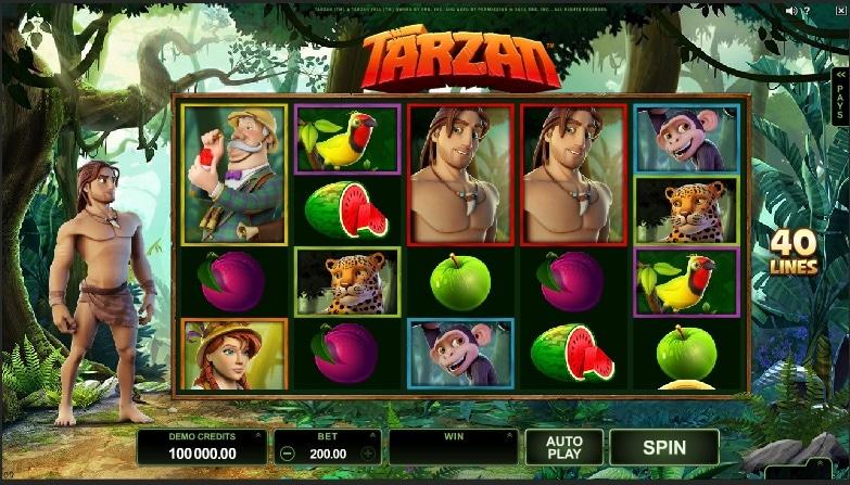 Tarzan tragaperras