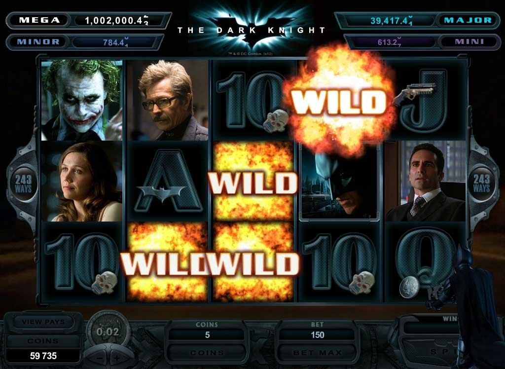 The Dark Knight wild