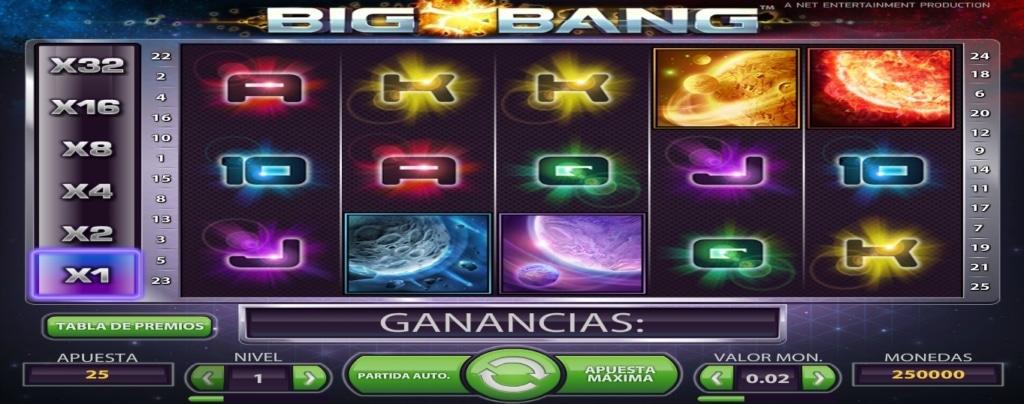 Big Bang tragaperras