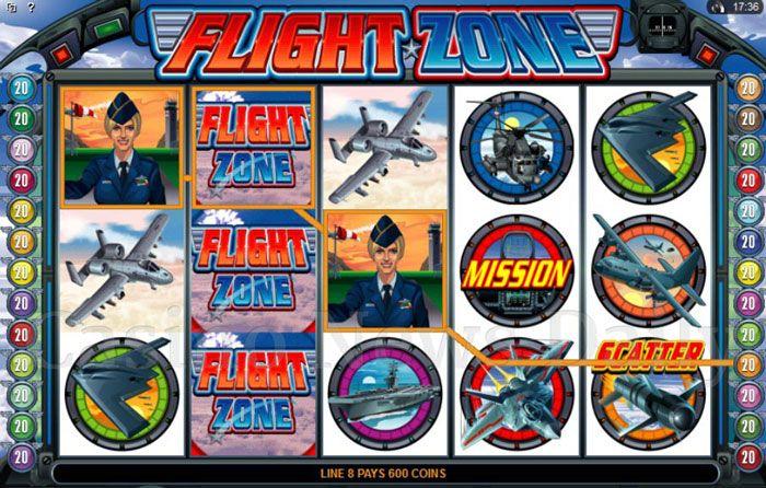 Flight Zone tragaperras
