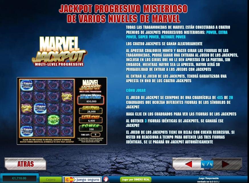 Iron Man 2 Jackpots