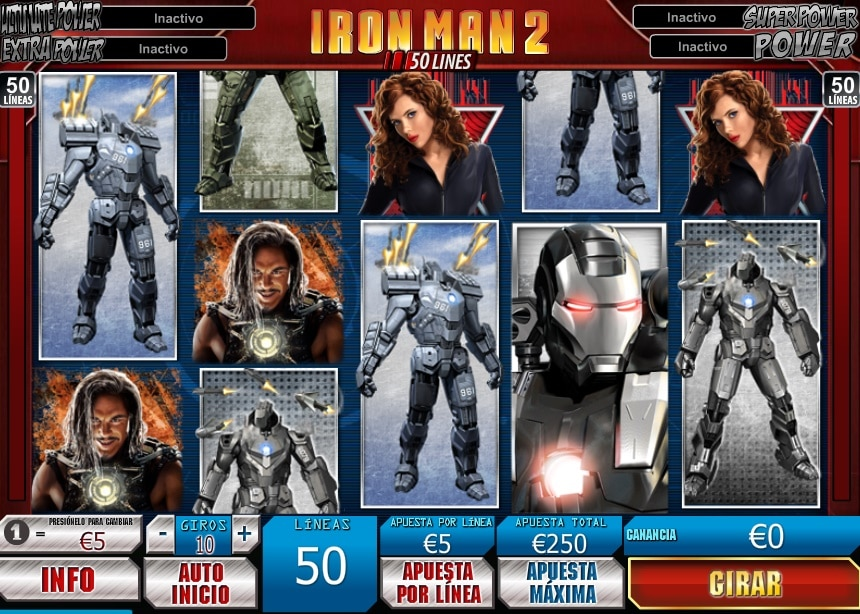 Iron Man 2 jugando