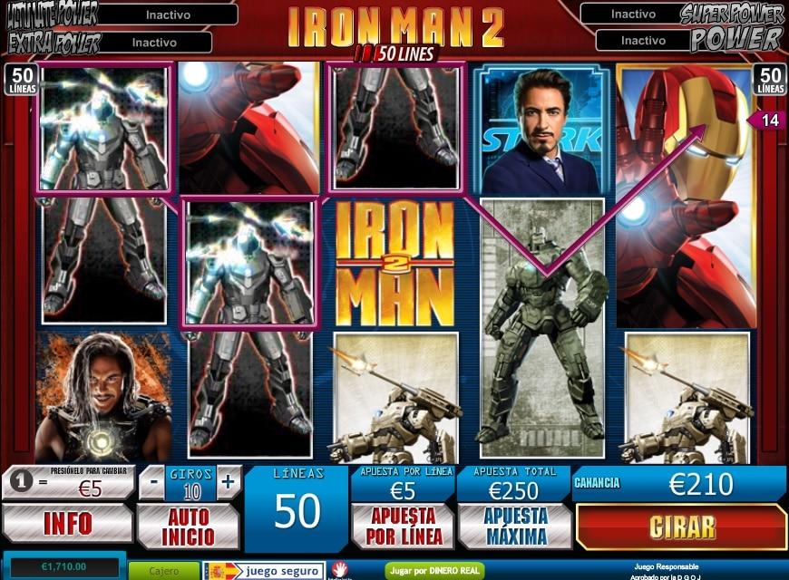 Iron Man 2 premio