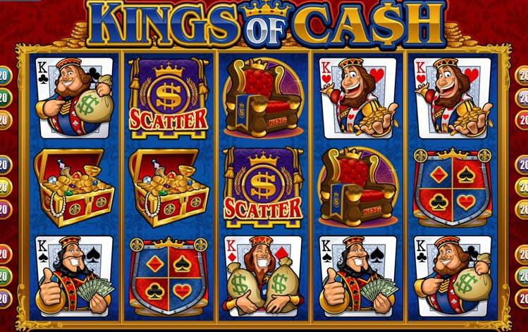 King of Cash tragaperras