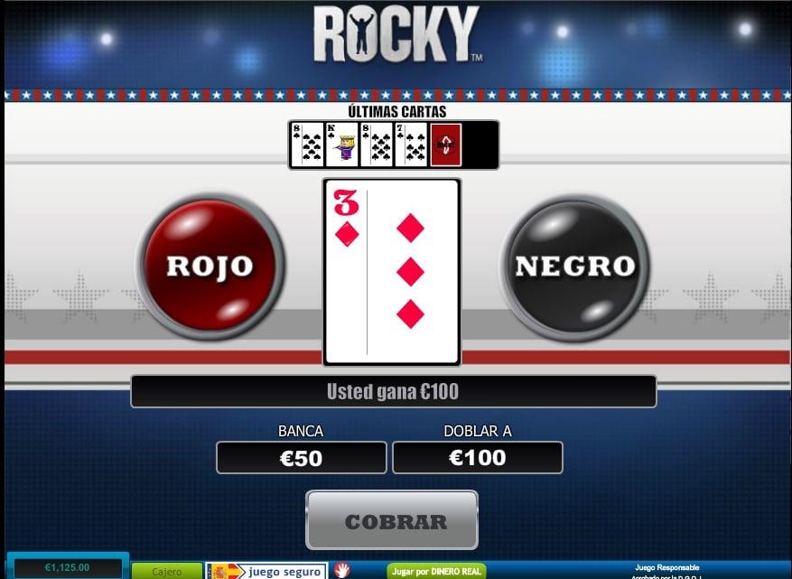 Rocky juego apuestas