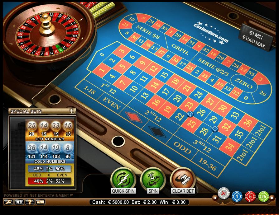 juegos de casino netent
