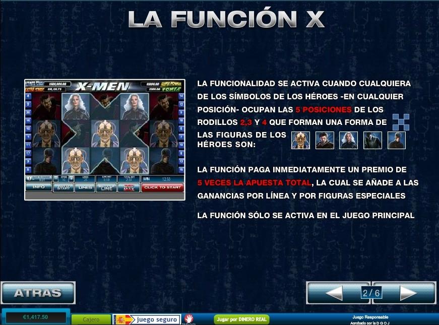 X-Men función X