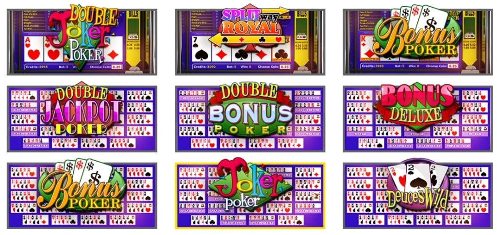 Betsoft Video Poker