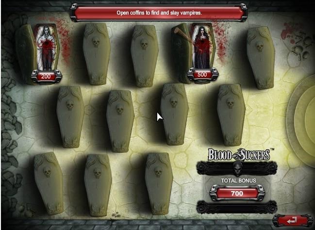 Blood Suckers juego de bonificación