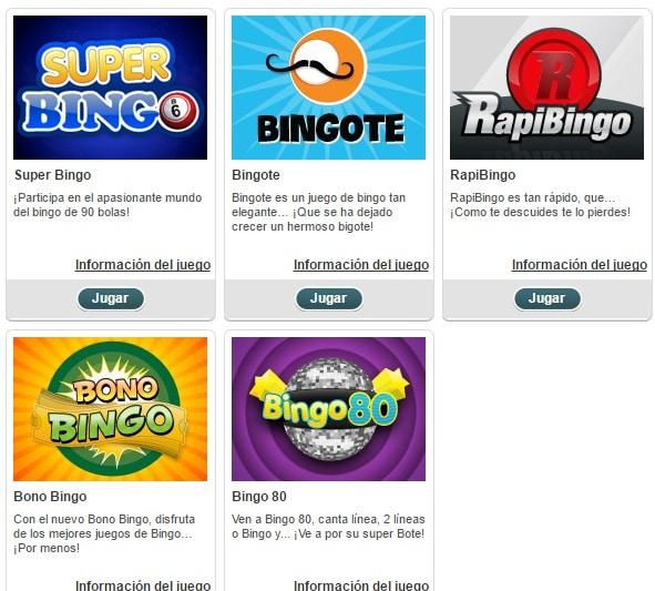 Canal Bingo bingo