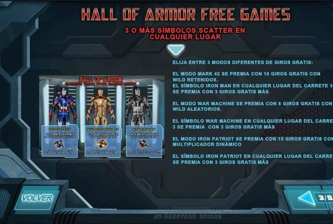 Iron Man 3 giros gratis