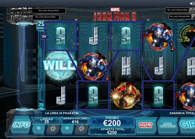 Iron Man 3 premio