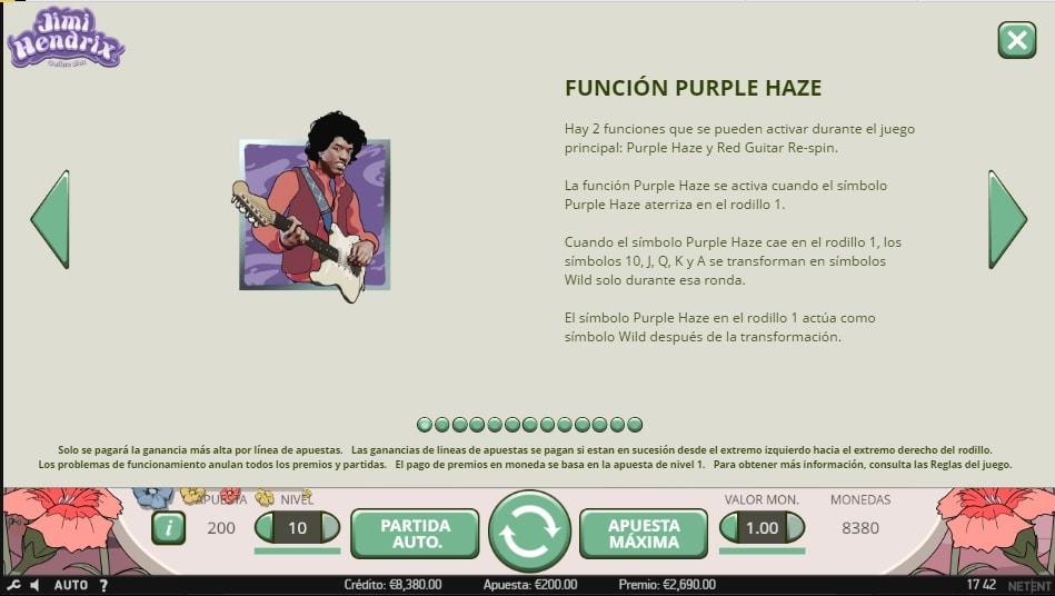 Jim Hendrix Purple Haze