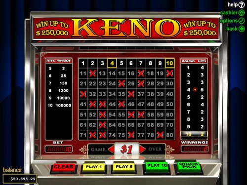Keno casino online