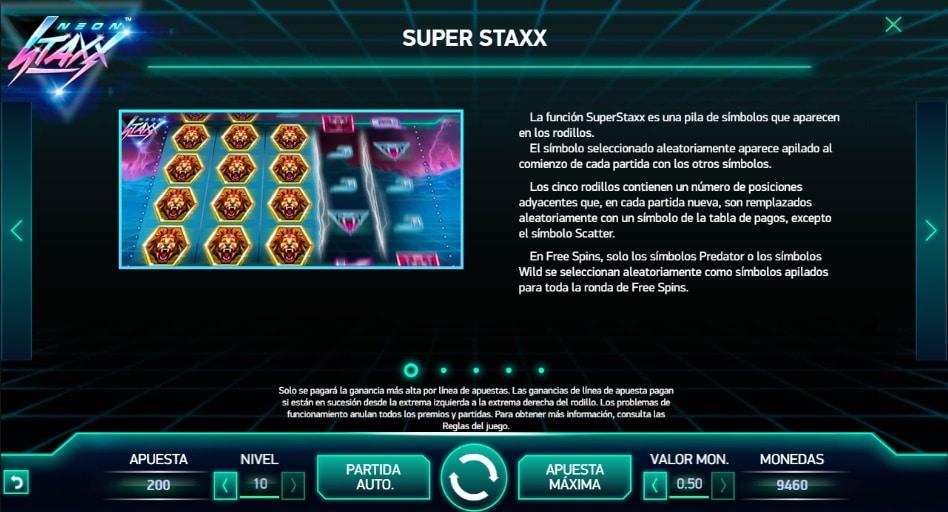 Neon Staxx Super Staxx