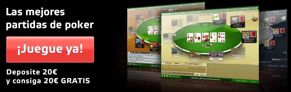 Party Poker bono