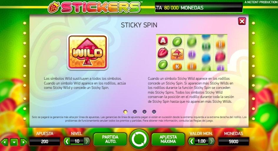 Stickers premios