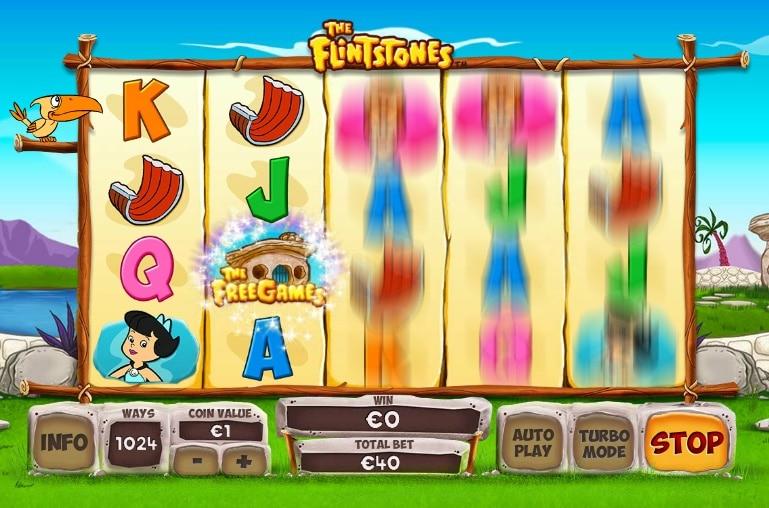 The Flintstones jugando