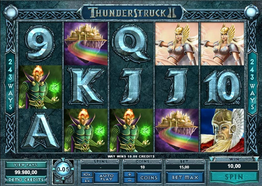 Thunderstruck 2 premio