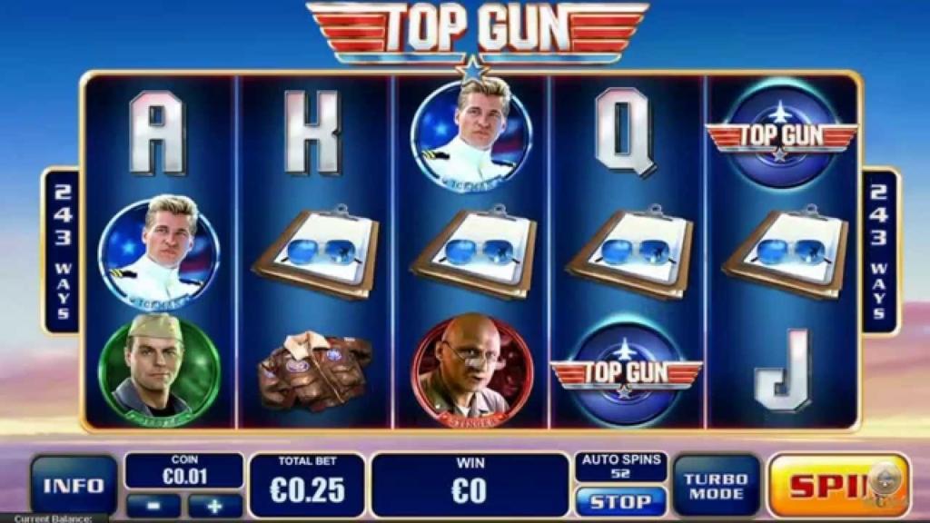 Top Gun tragaperras