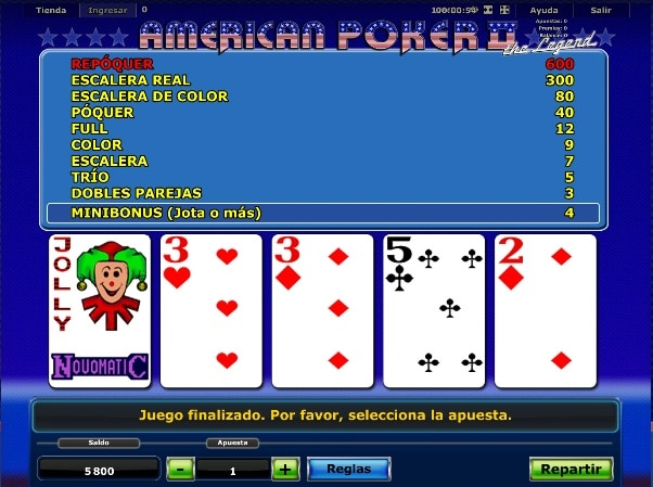 Video Poker Star Vegas