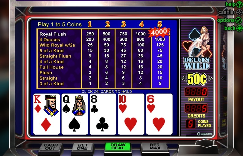 Video Poker en el casino online