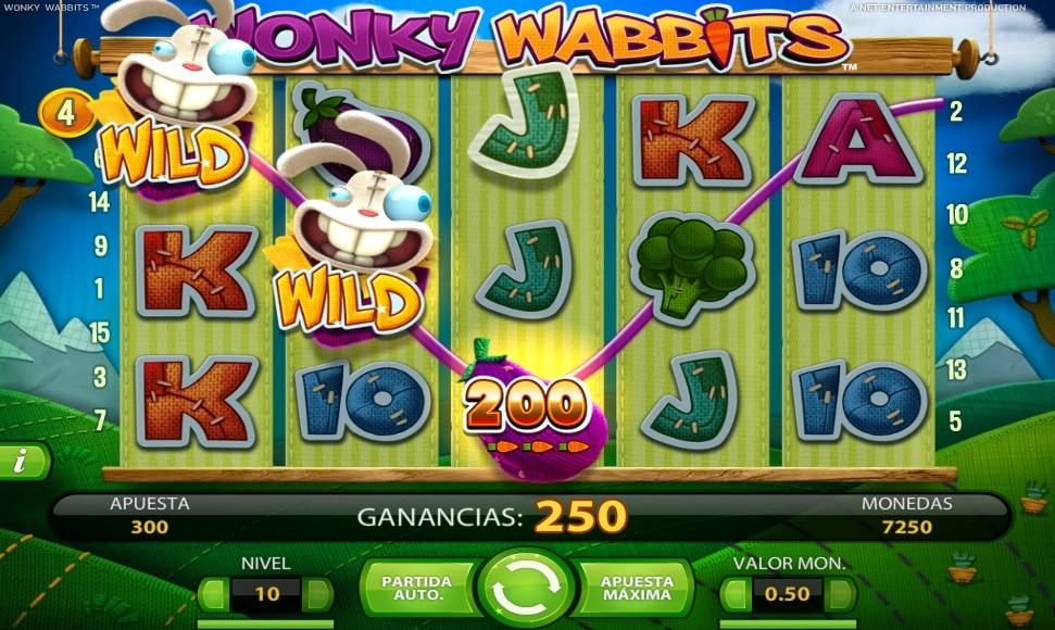Wonky Wabbits Wild duplicado