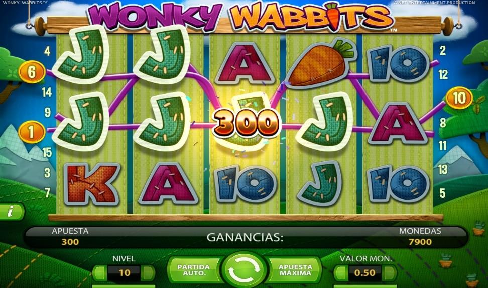 Wonky Wabbits premio