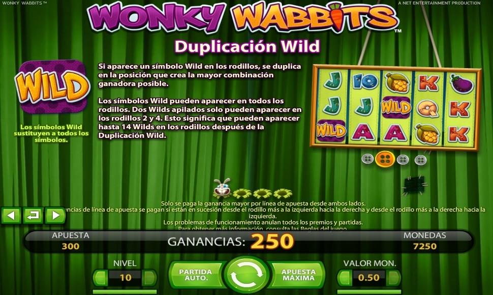 Wonky Wabbits premios