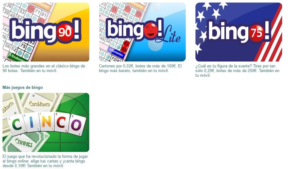 bingo tombola